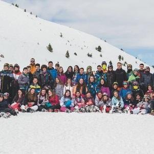 Activitat d'esquí 2018.