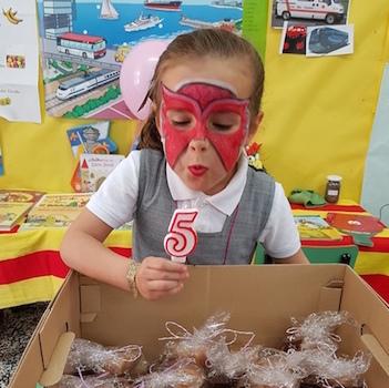 Aniversaris Abril - Edució Infantil.