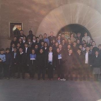 Visita al bisbe de Lleida - 4t EP.