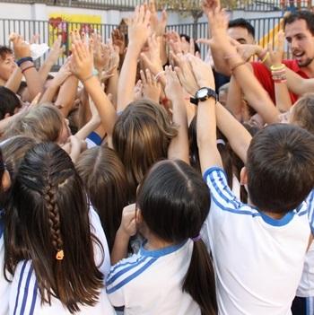 Visita dels jugadors de l'Actel Força Lleida.