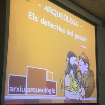 Taller d'arqueologia: Detectius del passat - 5è EP.