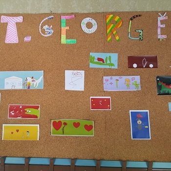 St. George drawing competition.