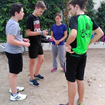 Preparem la cursa 5km - 1r Batxillerat.