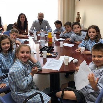 Trobada amb els alumnes delegats - Educació primària