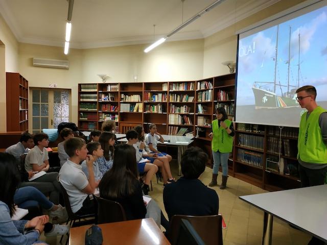 Xerrada de Greenpeace - Escola Verda. - 3