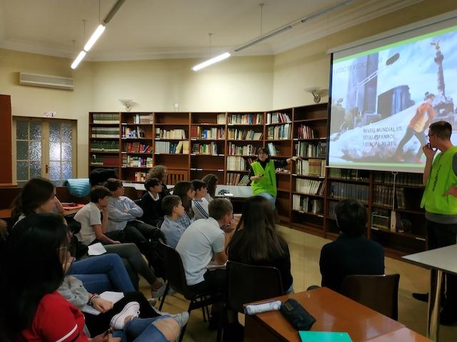 Xerrada de Greenpeace - Escola Verda. - 7
