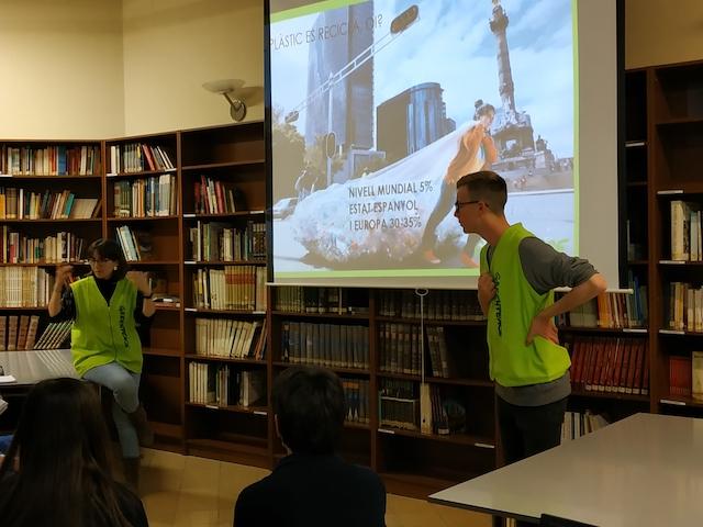 Xerrada de Greenpeace - Escola Verda. - 2