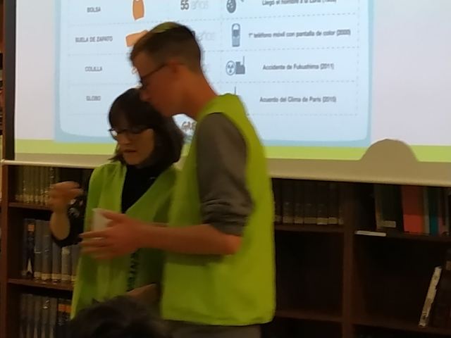 Xerrada de Greenpeace - Escola Verda. - 5