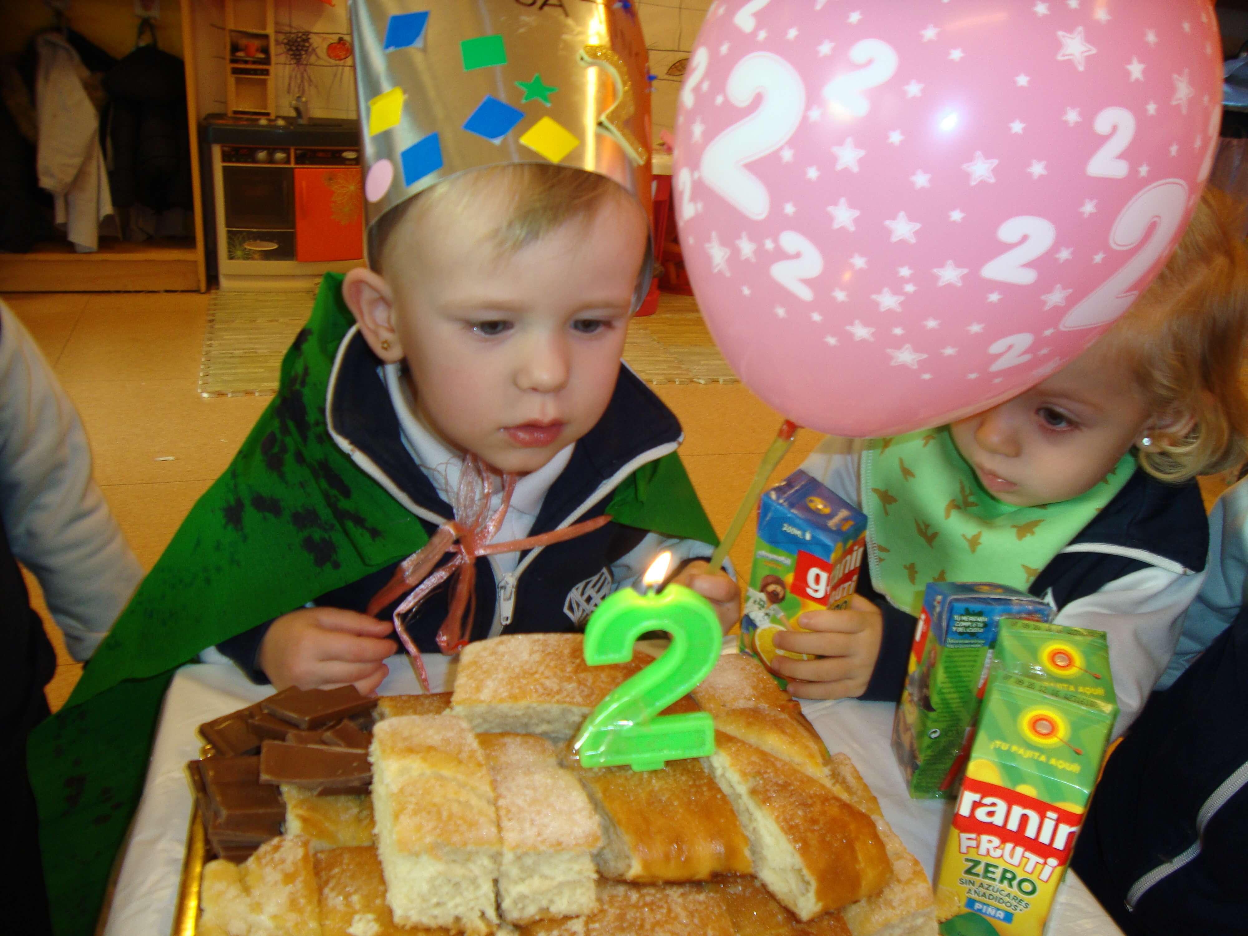 Aniversaris febrer - Educació Infantil - 0