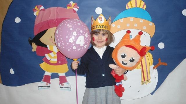 Aniversaris febrer - Educació Infantil - 23