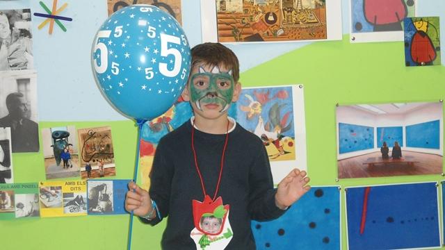 Aniversaris febrer - Educació Infantil - 1