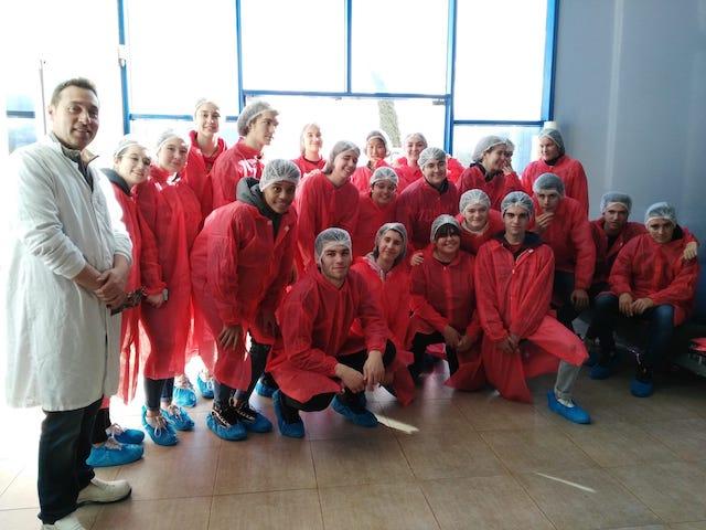 Visita per conèixer el Sector Porcí a Lleida – 1r Batxillerat. - 2