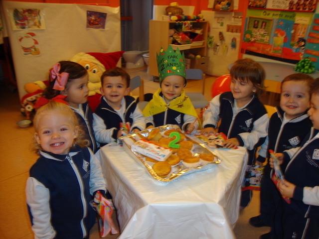 Aniversaris Desembre - Educació Infantil. - 27