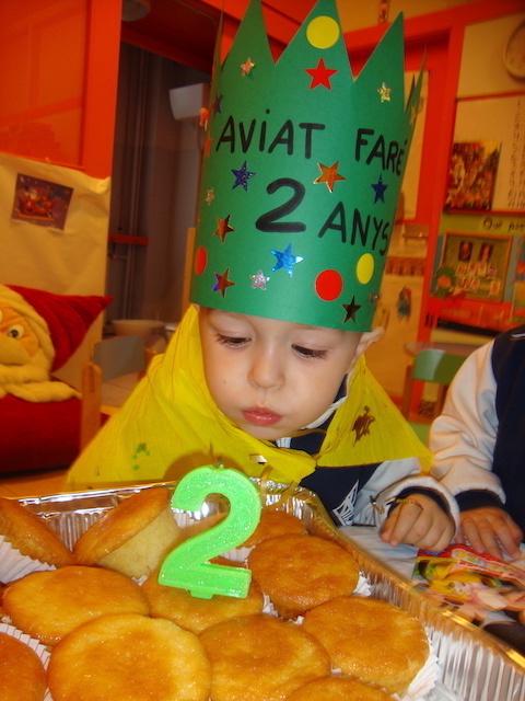 Aniversaris Desembre - Educació Infantil. - 28