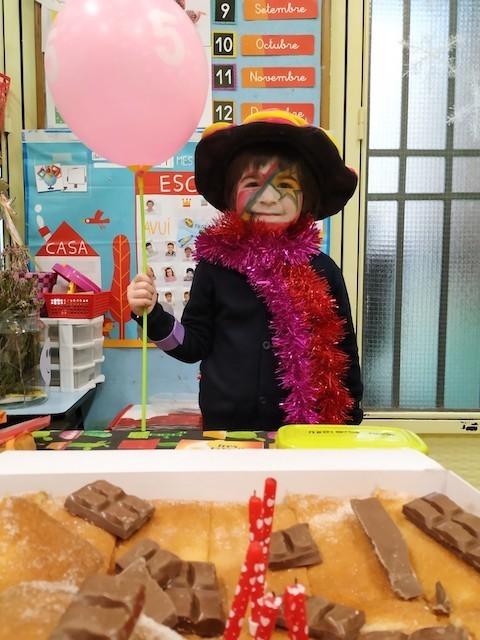 Aniversaris Desembre - Educació Infantil. - 2