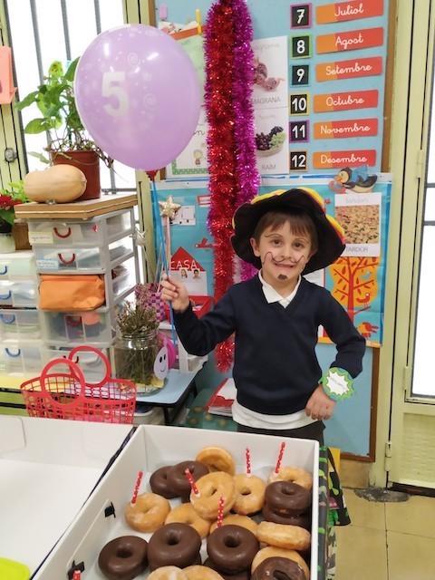 Aniversaris Desembre - Educació Infantil. - 1