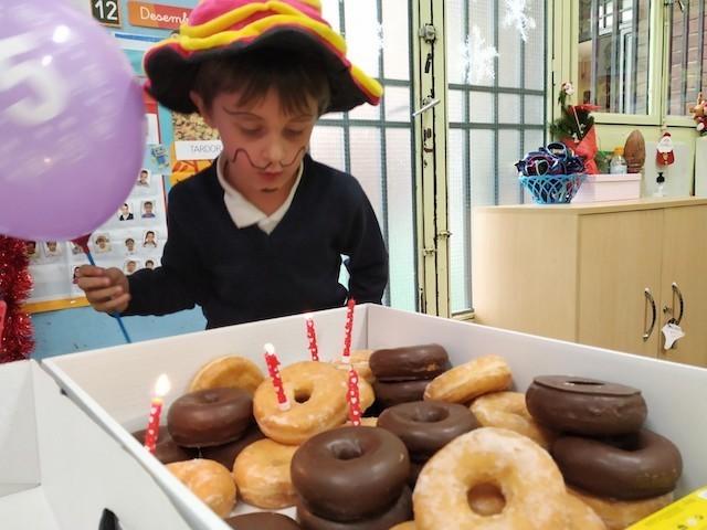 Aniversaris Desembre - Educació Infantil. - 16