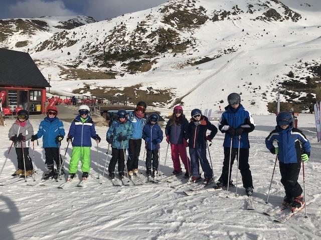 Activitat d'esquí 2020. - 105