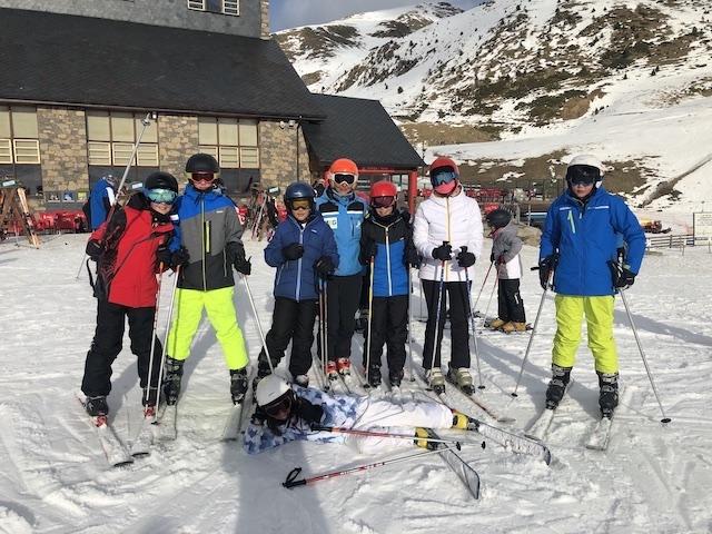 Activitat d'esquí 2020. - 96