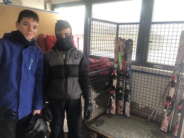 Activitat d'esquí 2020. - 1