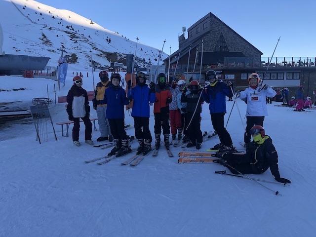 Activitat d'esquí 2020. - 126