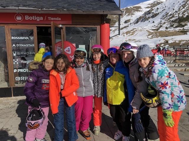 Activitat d'esquí 2020. - 61