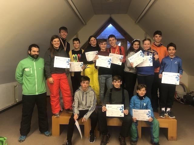 Activitat d'esquí 2020. - 24