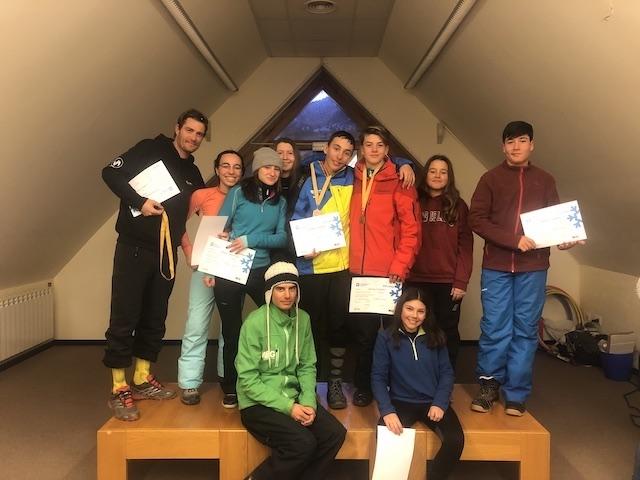 Activitat d'esquí 2020. - 52