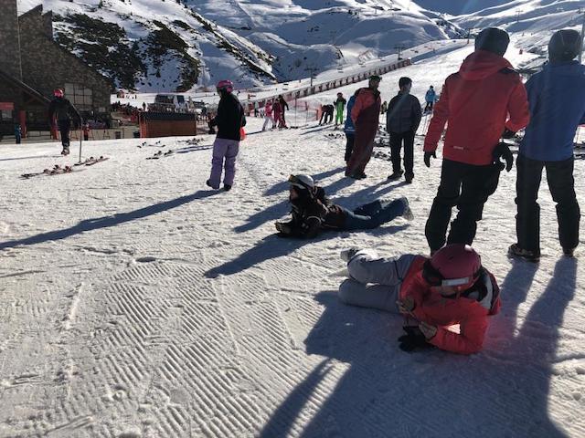 Activitat d'esquí 2020. - 0