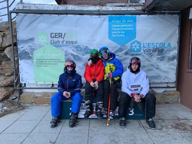 Activitat d'esquí 2020. - 21
