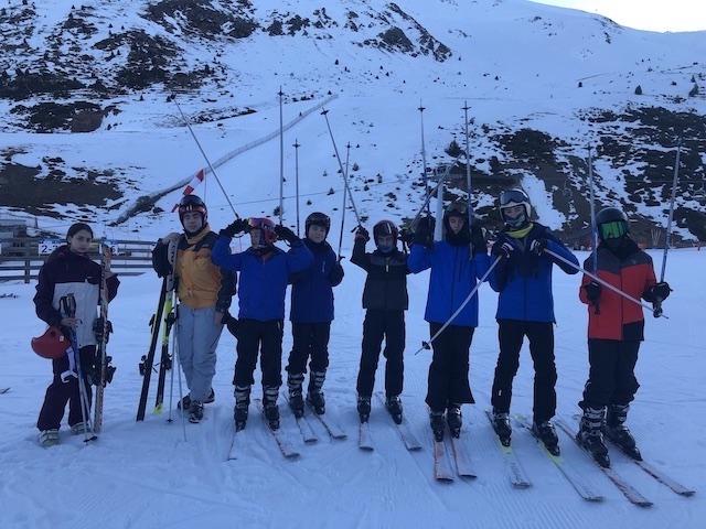 Activitat d'esquí 2020. - 128