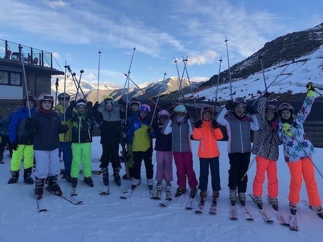 Activitat d'esquí 2020. - 83