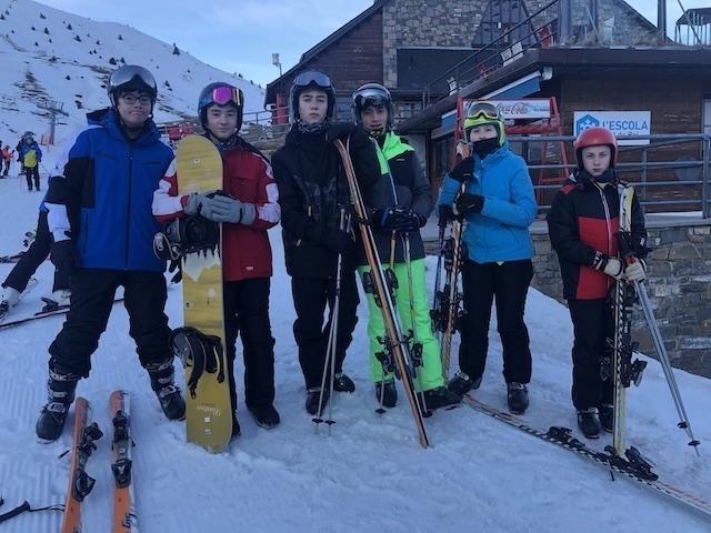 Activitat d'esquí 2020. - 95