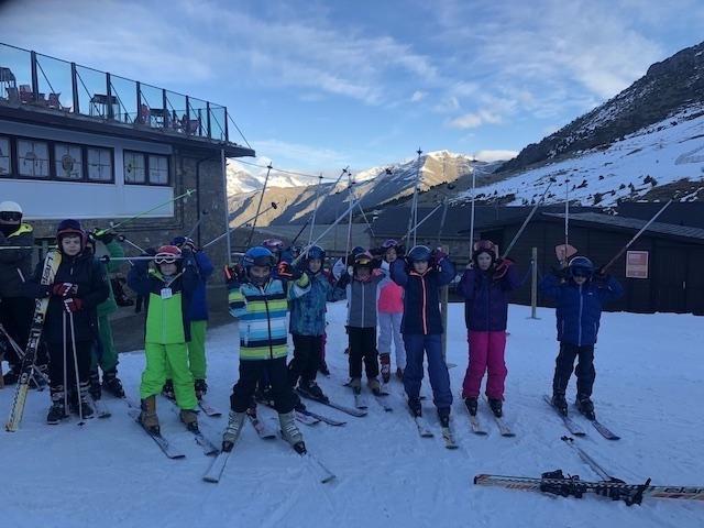 Activitat d'esquí 2020. - 124