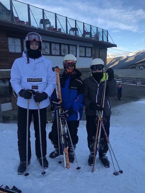 Activitat d'esquí 2020. - 111