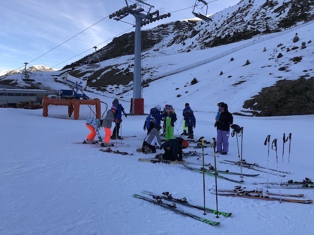Activitat d'esquí 2020. - 114
