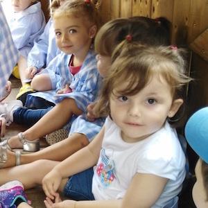 Primer dia a l'escola - Educació Infantil.