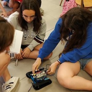 Programem robots a l'ESO.