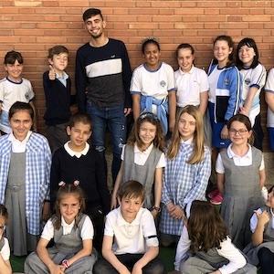 Ens visita l'organització OSMON - Escola Verda.
