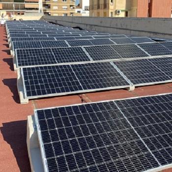 Plaques solars fotovoltaiques a Lestonnac Lleida