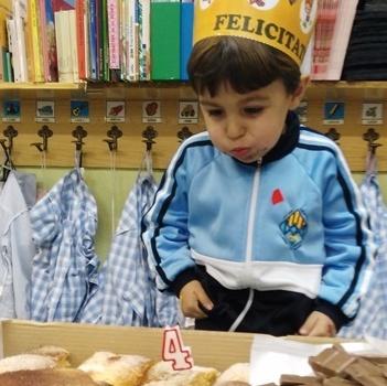 Aniversaris Gener - Educació Infantil.