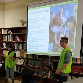 Xerrada de Greenpeace - Escola Verda.