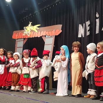 Felicitació del Nadal a les famílies - EI.