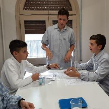 Pràctiques al laboratori - 1r ESO.