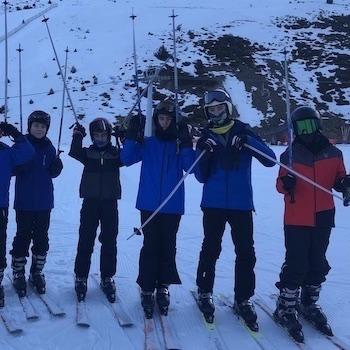 Activitat d'esquí 2020.