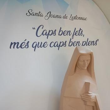 Inauguració benedicció de Santa Joana de Lestonnac