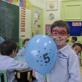Aniversaris Educació Infantil - Novembre.