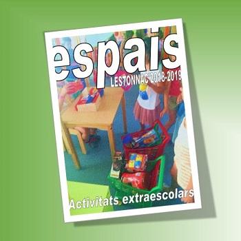 Activitats extraescolars - Revista Espais 2018-2019