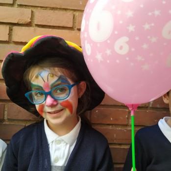 Aniversaris febrer: Educació Infantil