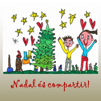 Programa previst per a la celebració del Nadal a l'escola